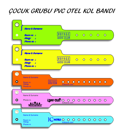 KİDS CLUB KOL BANDI